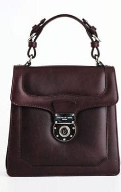 Small Pleasures: Craftsman-made leather Audrey handbag by Thomas Lyte of England