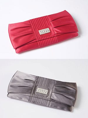 Alicia Silk Clutch
