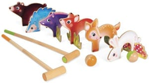 Animal cunning? Croquet for the tots from smart wooden toy specialists Janod