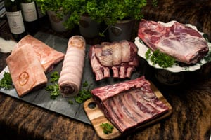 Succulent new Banquet Roasting Box from the Berwickshire hills