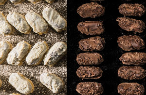 Gourmet Belgian Chocolate Flaked Truffles: 1kg: worth £95, but £39 for Members only!