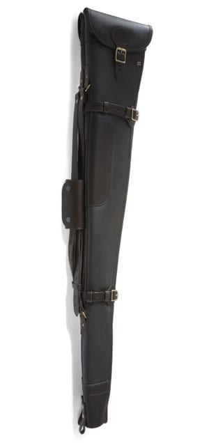 Best English leather double gunslips by Croots: the Byland