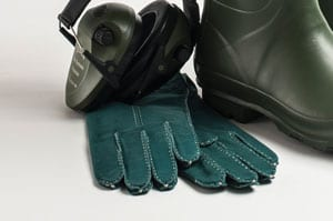 Deliciously soft suede ladies' gloves, cashmere-wool lined: a snip at £26
