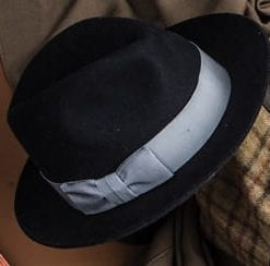 Classic bowler hat with a twist: this time it's hats off to the ladies!