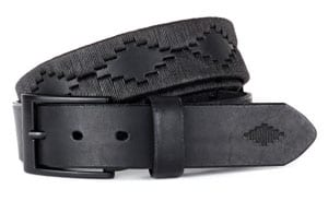 Limited edition Black Label premium belt; the ultimate, by pampeano