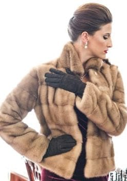 The New Fur Collection: Gorgeous top-quality demibuff mink jacket