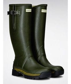 Hunter Balmoral Neo 5mm Boots for extra warmth in a cold climate