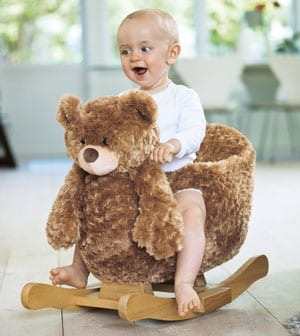 Rocking Ted: the Swedish rocking bear for babies