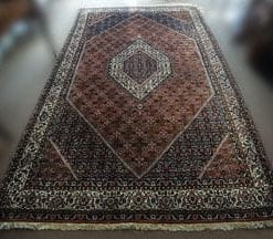 Traditional handmade double-knotted large Persian Bidjar rug: a superb deal at £3,795