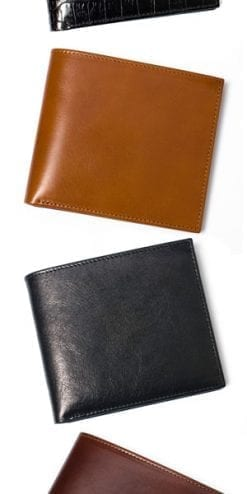 Craftsman-made fine calf leather wallet, a snip at £29