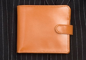 Classic billfold wallet in English bridle leather
