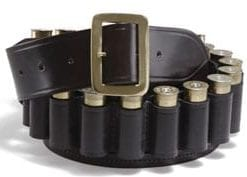 Finest English bridle leather cartridge belt: the Malton by Croots England