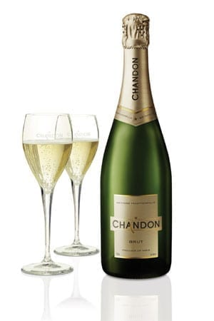 Taste the new Chandon Brut sparkling wine by Moët & Chandon: just £83.93 per six-bottle case