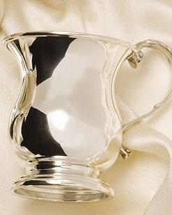 Fine English silver Georgian Christening Cup