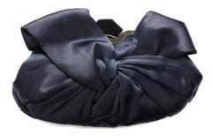 Gorgeous Clara Bow navy clutch: simple, but so sophisticated