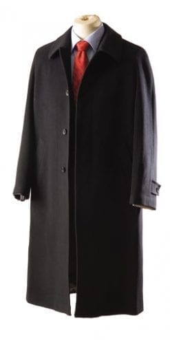 Pure wool Chesterfield overcoat by Magee of Ireland: a snip at £179