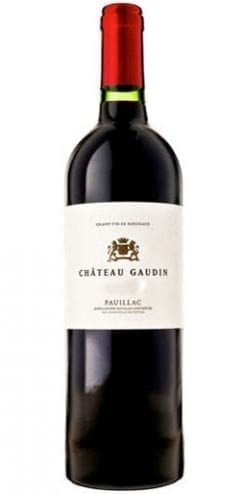 Superb fine wine deal: Château Gaudin 2006 Pauillac: Between Château Latour and Lynch-Bages