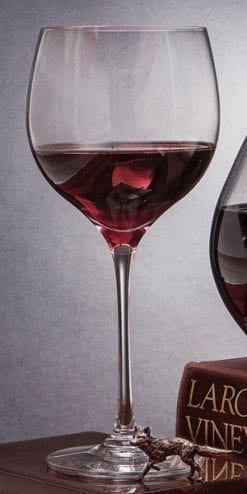 Chateauneuf English Crystal Wine Goblets by Dartington Crystal