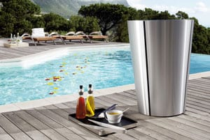 Smart designer Eva Solo BBQ Charcoal Grill with flat lid, 49 cm diameter, stainless steel