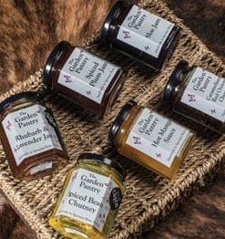 Award-winning new homemade Chutney and Preserves Collection from the Garden Pantry in Norfolk