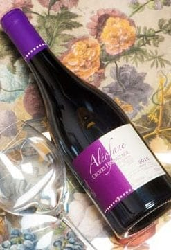 Top-class French Rhone: Domaine Aléofane Crozes-Hermitage from Natacha Chave, only £15.75 per bottle