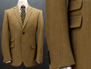 Smart and well-cut pure wool jacket for summer, autumn and spring