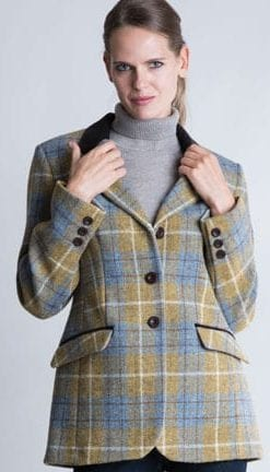 The New British Heritage: Cadzow Jacket in handwoven pure wool Harris Tweed