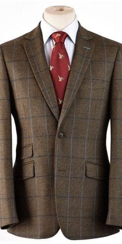 New-season style: Extremely elegant well-cut pure wool jacket by Gurteen: save over £100