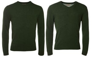 Pure cashmere men's knits by Magee of Donegal: a snip at only £39!