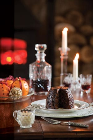 "The finest Christmas Puddings in the world! Susan Green's Alnwick Rum"" Two Large Puddings"