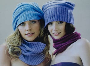 New Italian cashmere silk snood: super deal, only £23