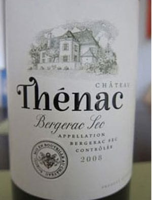 Château Thénac, Côtes de Bergerac 2008 rouge: superb wine, excellent Club deal