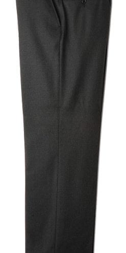 Pure wool tailored trousers in navy and charcoal grey