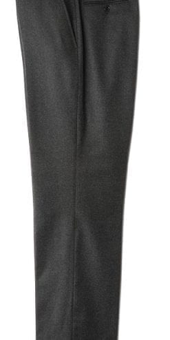 Charcoal wool trousers