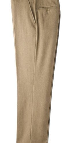 Fawn wool trousers