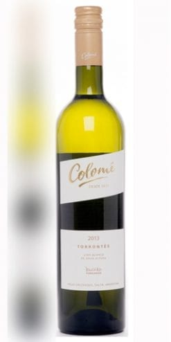 Delicious summer white: Bodega Colomé Torrontés 2014: a snip at £113 per case of 12 delivered