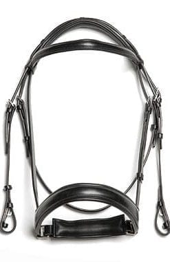 Crank Dressage English Bridles by Shayler of Walsall