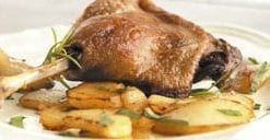 Delicious French duck confit by Rougie: instant gourmet foods