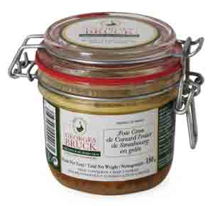 The ultimate Whole Foie Gras En Gelee with Madeira, from Georges Bruck of Strasbourg: Duck, Six x 50g jars