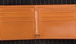 Classic wallet in English bridle leather