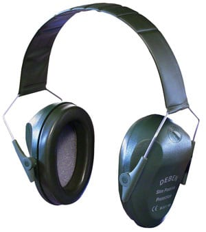 Deben's slim electronic ear defenders: you can hear the birds