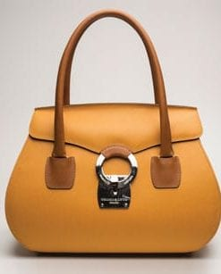 English icon: craftsman-made Eliza signature leather handbag by Thomas Lyte of England