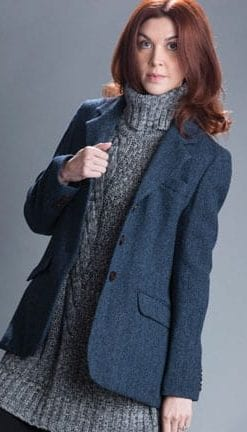 The New British Heritage: Osborne Jacket in pure wool handwoven Harris Tweed