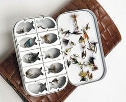 The Club Trout Flybox and Fly selection