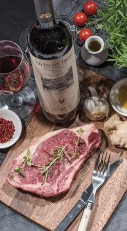 Galician Sirloin: The 'oak-aged claret' of steak: Four x 260g steaks