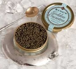 Rich and rare: The Shah's Caviar, Golden oscietra: 50g, save £80
