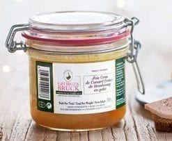 Height of luxury: delicious Goose foie gras en gelée entier by the world famous Rougie: 2 x 180g jars