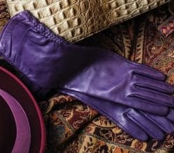 Elegant elbow-length ladies' gloves by Southcombe of Somerset