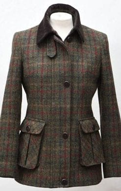 Stylish new hand-woven Harris Tweed jacket, designed and tailored in England