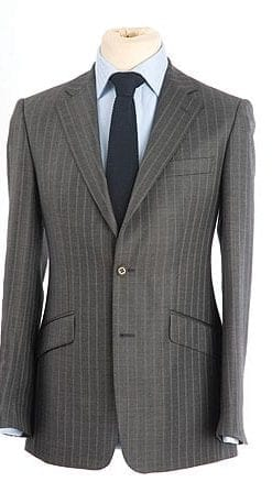 Grey pinstripe jacket